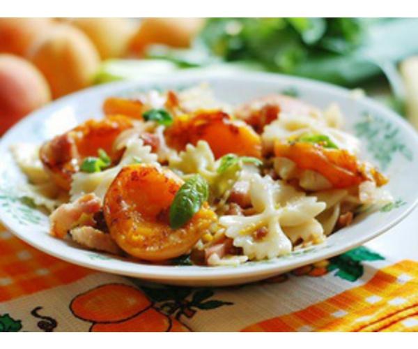 Рецепт                  Паста с абрикосами