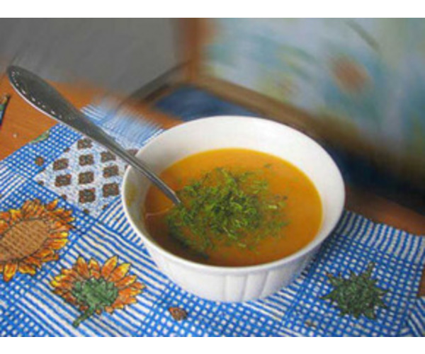 Рецепт                  Морковный суп