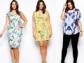 5 стильных образов для девушек с формами