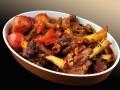 Запеченные бараньи ребрышки с картофелем
