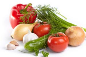 Овощи должны быть на вашем столе каждый день