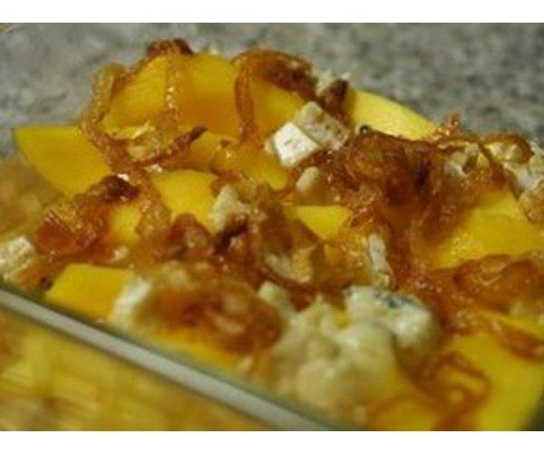 Рецепт                  Теплая закуска из манго