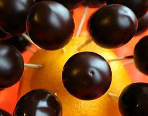 Рецепт                  Виноград в шоколаде