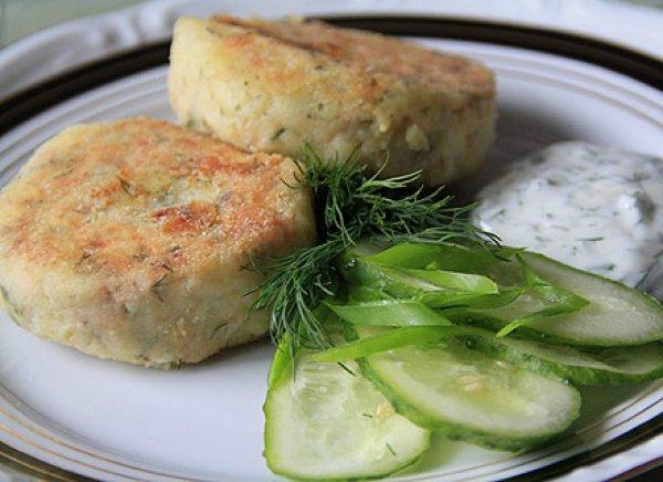 Рецепт                  Постные картофельно-рисовые котлеты