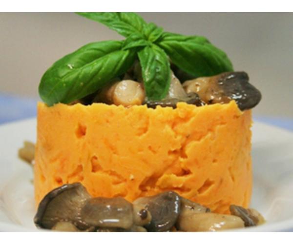 Рецепт                  Пюре из батата