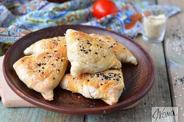 Самса с курицей: рецепт