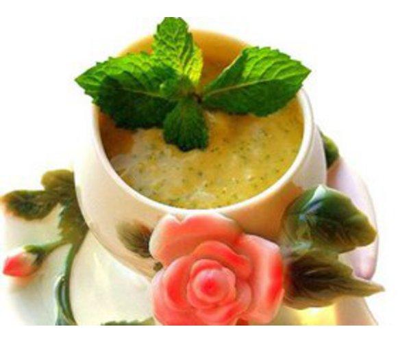 Рецепт                  Холодный суп из манго