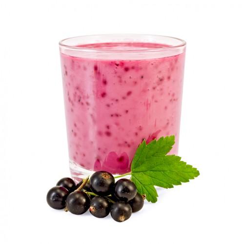 Рецепт                  Молочный коктейль из черной смородины