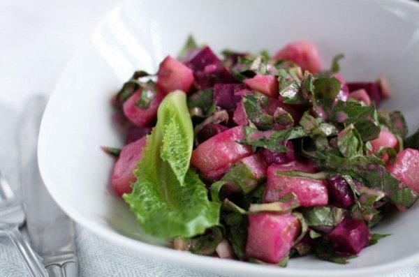 Рецепт                  Шведский картофельный салат
