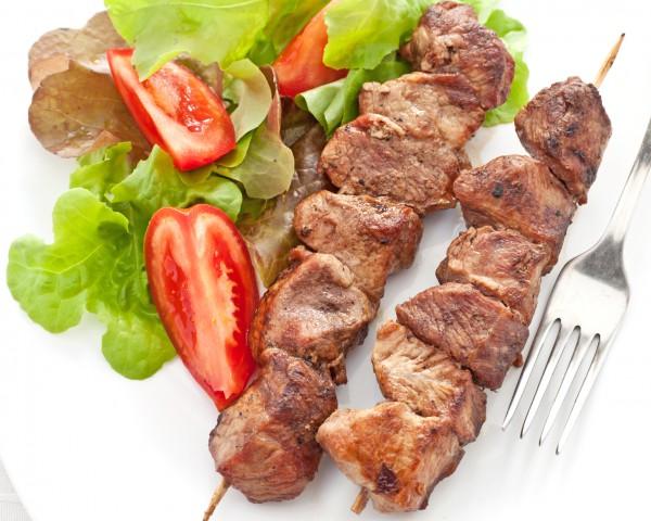 Рецепт                  Шашлык из свинины в кефирном маринаде