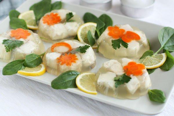 Рецепт                  Заливная рыба