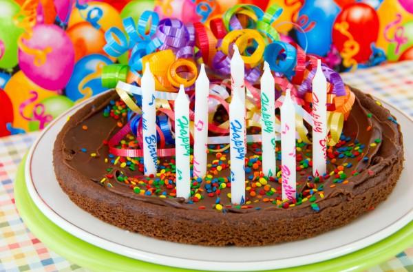 Рецепт                  Шоколадный торт на день рождения