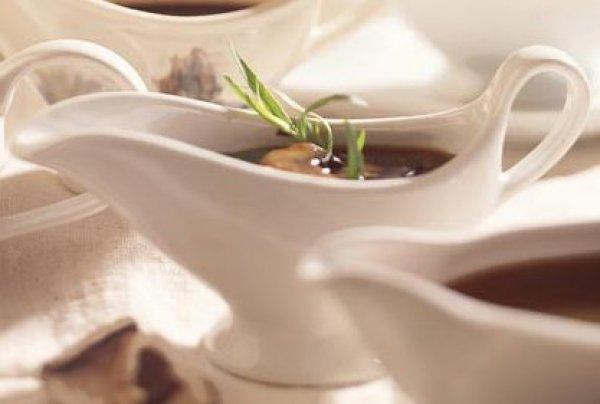 Рецепт                  Соус из лесных грибов