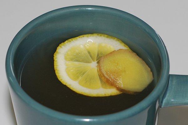 Рецепт                  Имбирный чай с лимоном