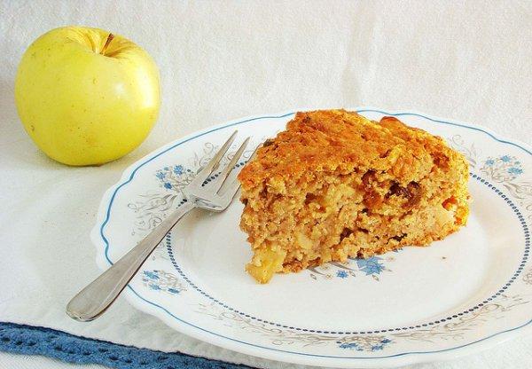 Рецепт                  Яблочный кекс к завтраку
