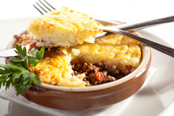 Рецепт                  Пастуший пирог: Классический рецепт