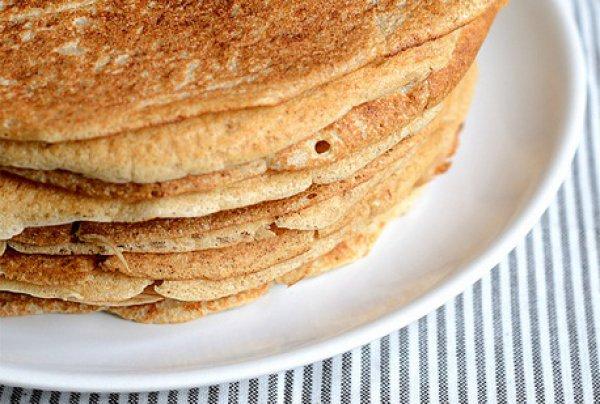 Рецепт                  Гречнево-пшеничные блины на опаре