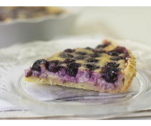 Рецепт                  Финский черничный пирог