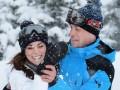 Кейт Миддлтон и принц Уильям с детьми отдохнули в Альпах