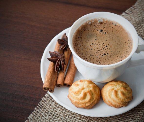 Рецепт                  Горячий шоколад из какао