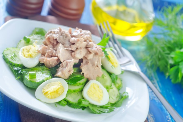 Рецепт                  Новогодние рецепты 2015: Салат из печени трески