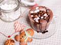 Горячий шоколад с кофейным ликером