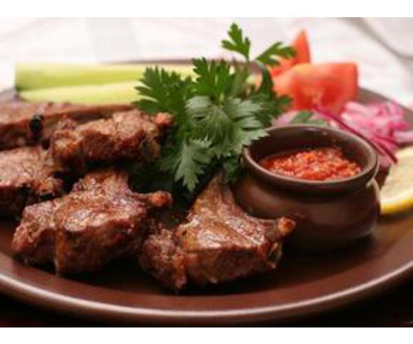 Рецепт                  Шашлык по-домашнему