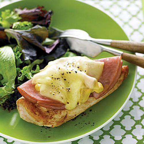 Рецепт                  Куриные грудки с ветчиной и сыром