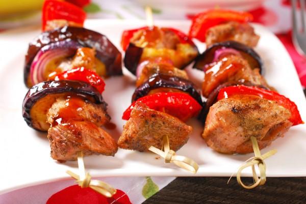 рецепты салатов с баклажанами и перцем