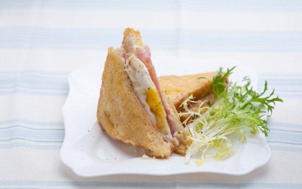 Рецепт                  Французский завтрак: Сэндвич Крок Мадам
