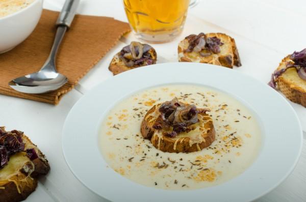 Французский суп Вишисуаз: Пошаговый рецепт с видео