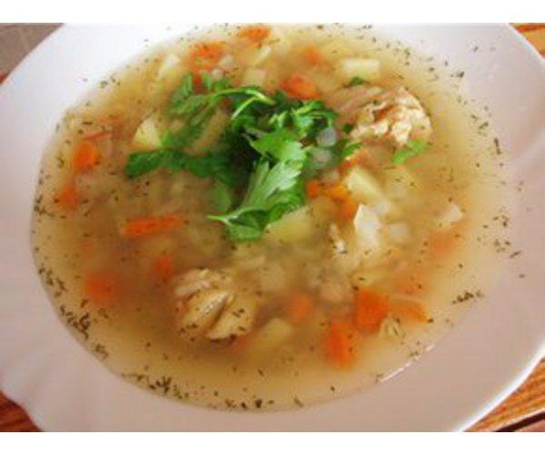 Рецепт                  Рыбный бульон с овощами