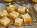 Как приготовить тыквенные квадратики со сливочным сыром