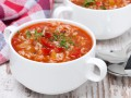 Томатный суп с рисом