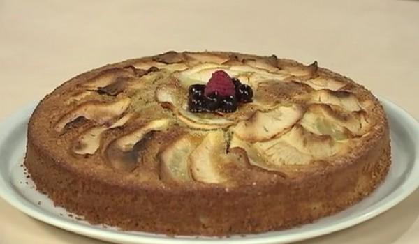 Рецепт                  Овсяный пирог с малиной