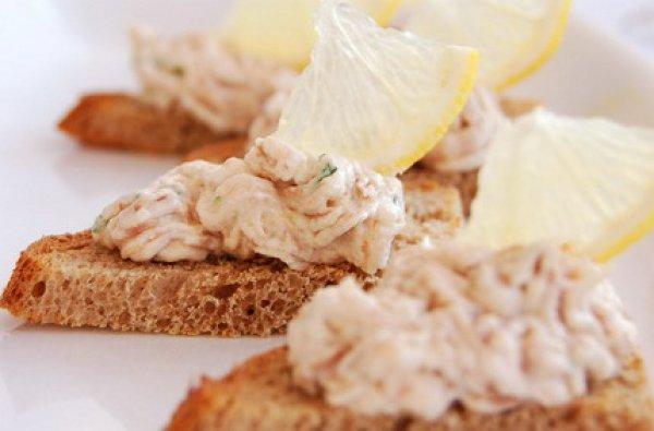 Рецепт                  Закуска из тунца