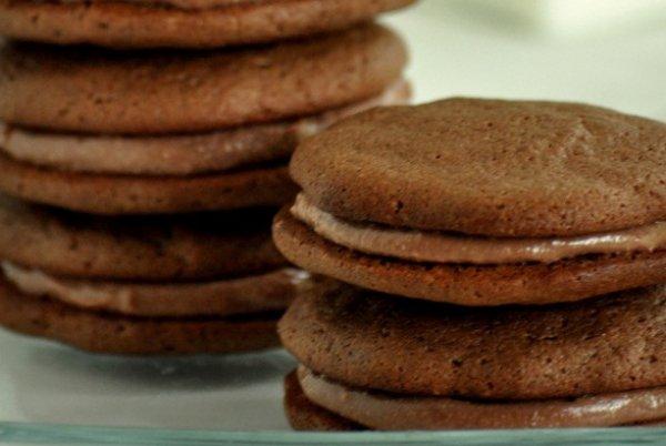 Рецепт                  Шоколадное печенье-сэндвич