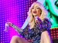 Британская певица Рита Ора выступила в московском ночном клубе