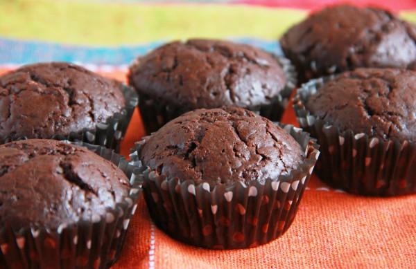 Рецепт                  Маффины с двумя видами шоколада