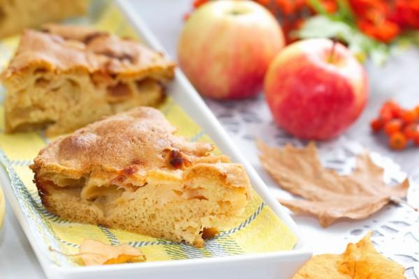 Рецепт                  Простая яблочная шарлотка