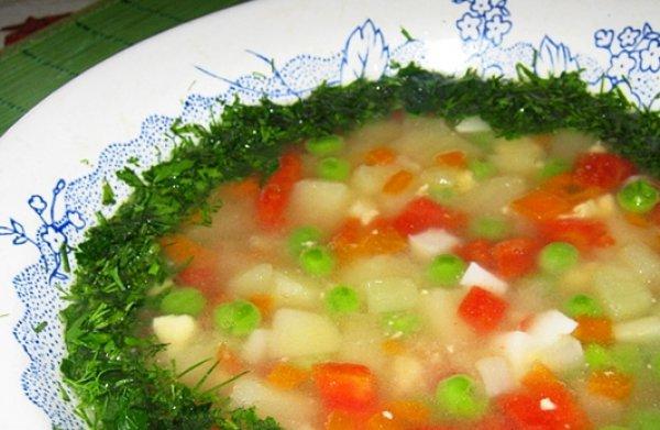 Рецепт                  Овощной суп