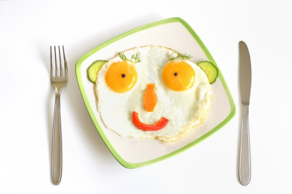 Рецепт                  Первоапрельская яичница