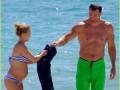 Беременная Хайден Паннетьери отдыхает с Владимиром Кличко в Майами