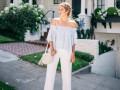 Как носить романтичную блузу: три идеи