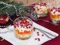 Салаты на Новый год: Слоеный салат из сельди