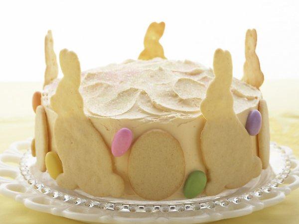 Рецепт                  Малиново-лимонный пасхальный торт