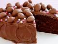 Шоколадный пасхальный торт