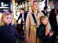 Наталья Водянова с детьми наслаждается японскими каникулами