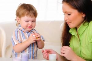 Показывай ребенку новые предметы и новые действия