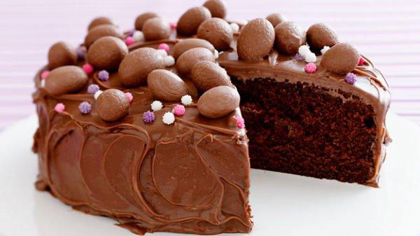 Рецепт                  Шоколадный пасхальный торт